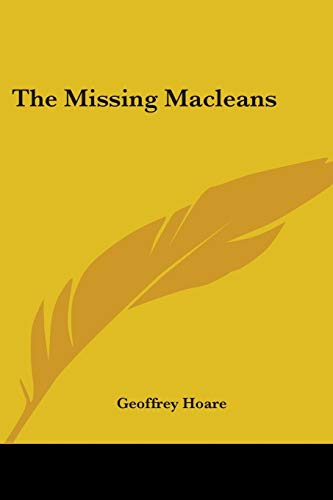 9780548451304: The Missing Macleans