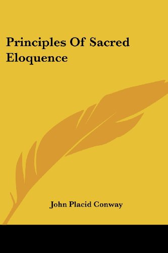 9780548512500: Principles Of Sacred Eloquence