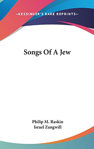 9780548516065: Songs Of A Jew