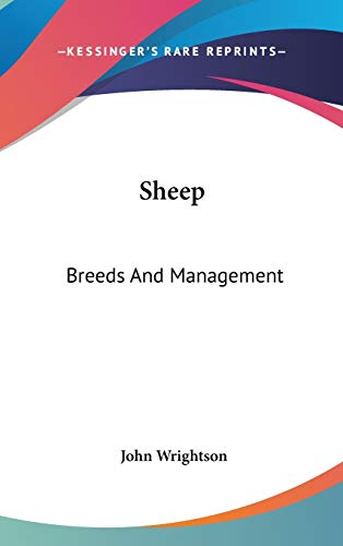 9780548539545: Sheep: Breeds And Management