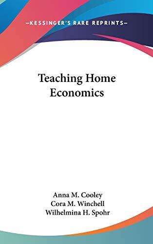 9780548561126: Teaching Home Economics