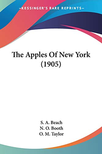 9780548648650: The Apples Of New York (1905)