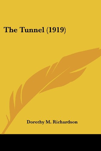 9780548695142: The Tunnel (1919)