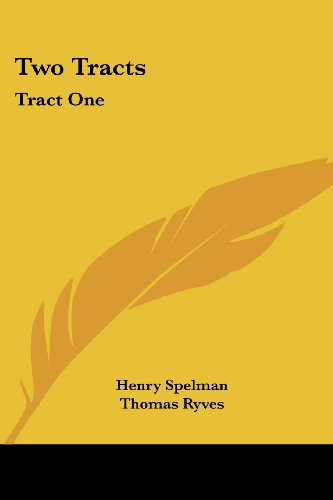 9780548698044: Two Tracts: Tract One: De Non Temerandis Ecclesiis, Etc.; Tract Two: The Poor Vicar's Plea For Tythes, Etc. (1704)
