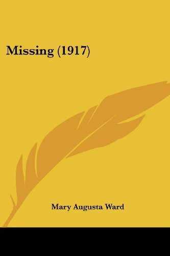 9780548750247: Missing (1917)