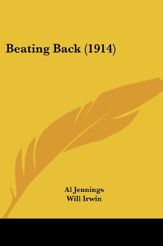 9780548763070: Beating Back (1914)