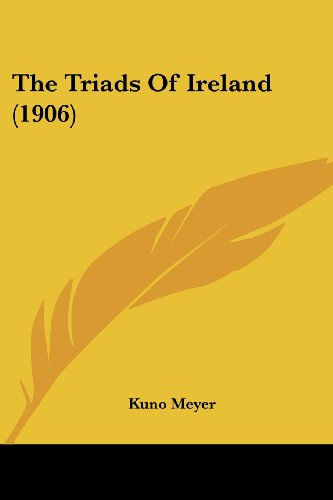 9780548784051: The Triads Of Ireland (1906)