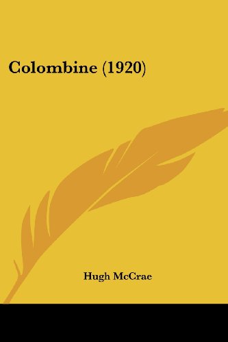 9780548795729: Colombine (1920)