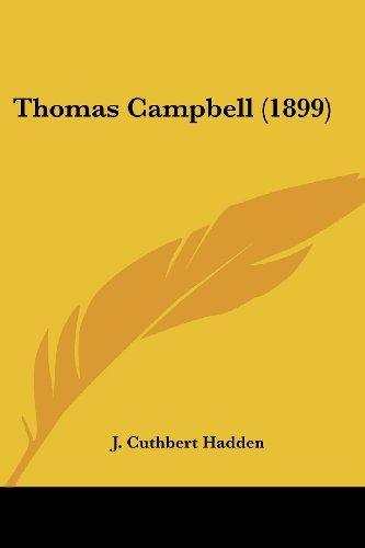 9780548798935: Thomas Campbell