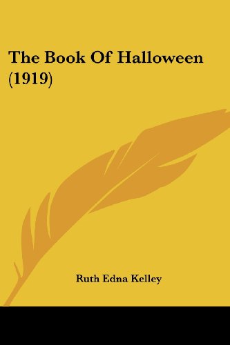 9780548815649: The Book Of Halloween (1919)