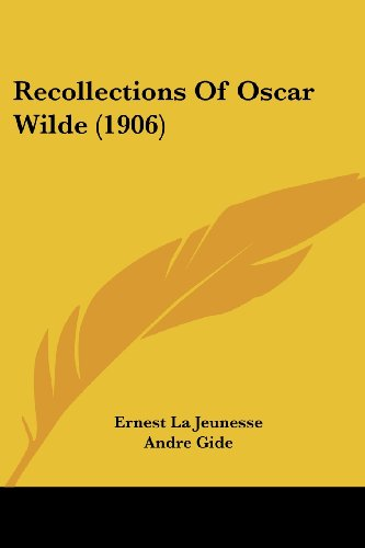 9780548868195: Recollections Of Oscar Wilde (1906)