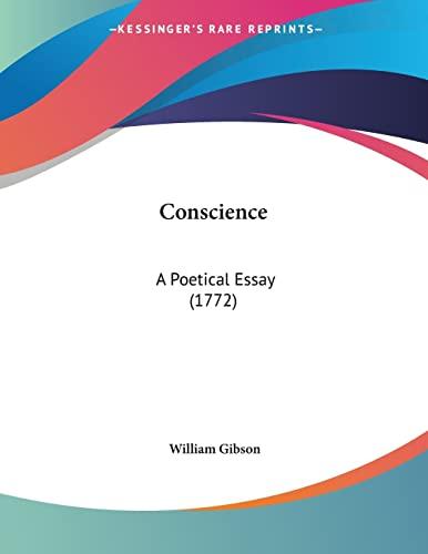 9780548877951: Conscience: A Poetical Essay (1772)