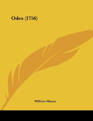 9780548886830: Odes (1756)