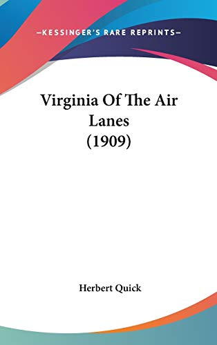 9780548965658: Virginia Of The Air Lanes (1909)