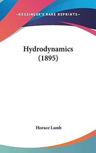 9780548969045: Hydrodynamics (1895)