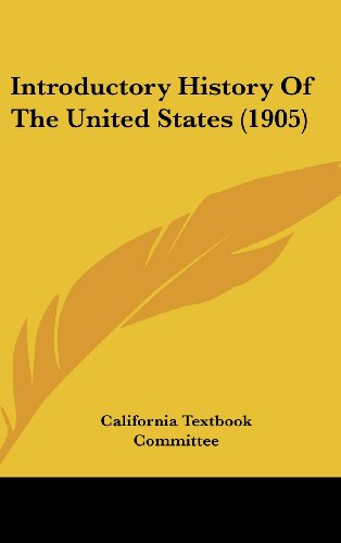9780548991114: Introductory History Of The United States (1905)