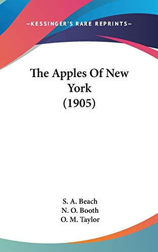 9780548997932: The Apples Of New York (1905)