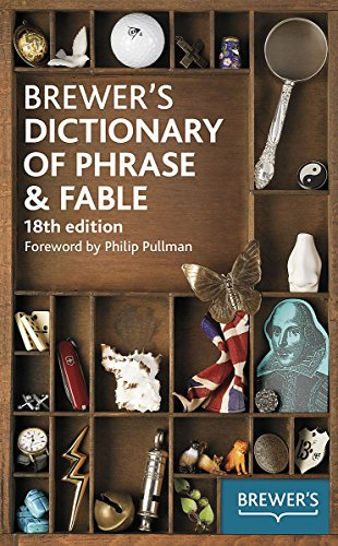 9780550100306: Brewer's Dictionary of Phrase and Fable