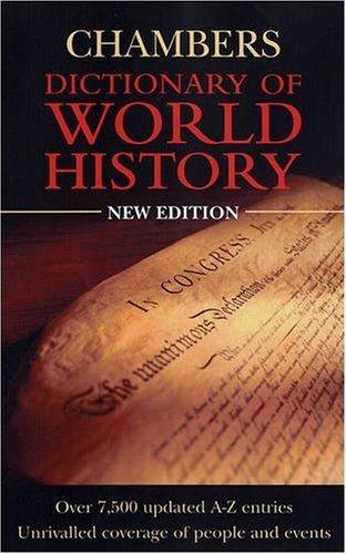 9780550100948: Chambers Dictionary of World History
