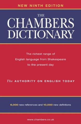 9780550101051: The Chambers Dictionary: Thumb Indexed