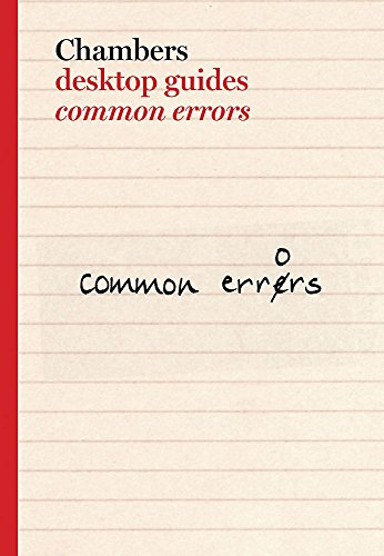 9780550101389: Common Errors in Spoken & Written English