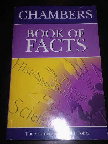 Chambers Book Of Facts: Ed: Trevor Anderson