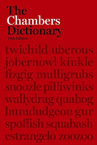 9780550101853: The Chambers Dictionary