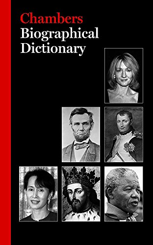 9780550102003: Biographical Dictionary (Chambers)