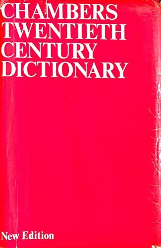9780550102065: Chambers Twentieth Century Dictionary
