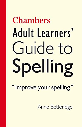 9780550102249: Chambers Adult Learner's Guide to Spelling