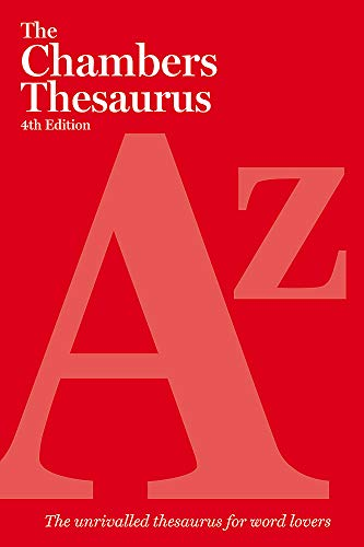 9780550102485: The Chambers Thesaurus, 4th Edition