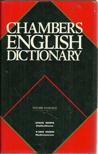 9780550102515: Chambers English Dictionary