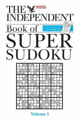 9780550102683: Independent Book of Super Sudoku: v. 1