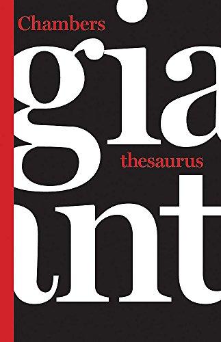 9780550102706: Chambers Giant Thesaurus