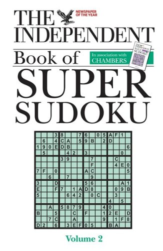 9780550102775: The Independent Book of Super Sudoku, volume 2