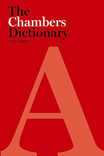 9780550102898: Chambers Dictionary, 11th Edition