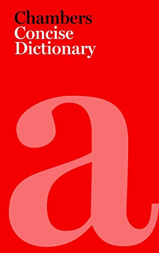9780550103345: Chambers Concise Dictionary