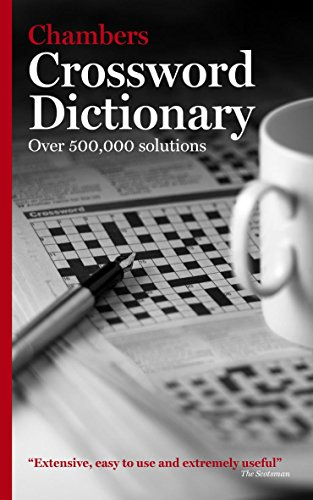 9780550103413: Chambers Crossword Dictionary