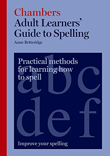 9780550103550: Adult Learners' Guide to Spelling