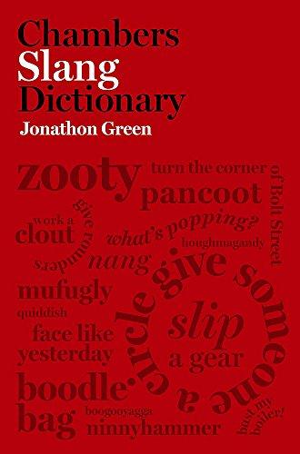 9780550104397: Chambers Slang Dictionary