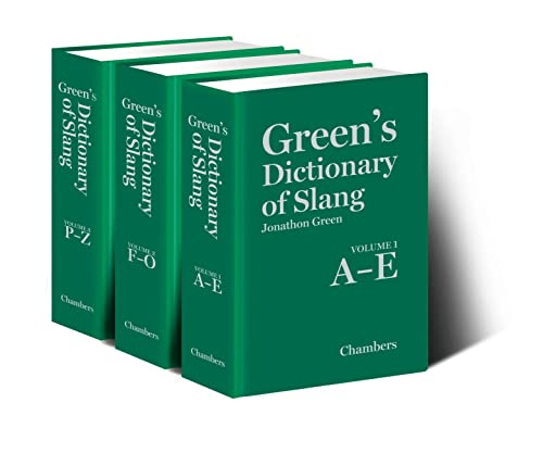 9780550104403: Green's Dictionary of Slang (3 Volumes)