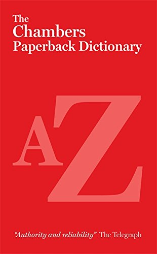 9780550105462: The Chambers Paperback Dictionary