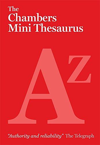 9780550105608: The Chambers Mini Thesaurus