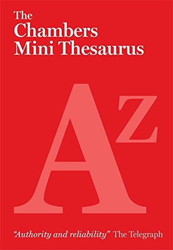 9780550105608: Chambers Mini Thesaurus