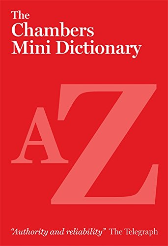 9780550105615: The Chambers Mini Dictionary