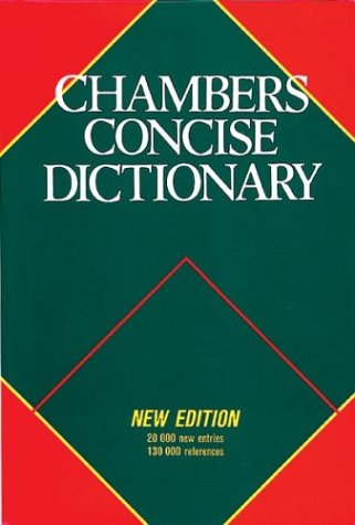 9780550105707: Chambers Concise Dictionary