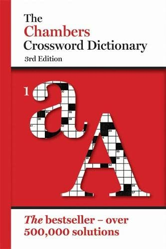9780550106209: Chambers Crossword Dictionary