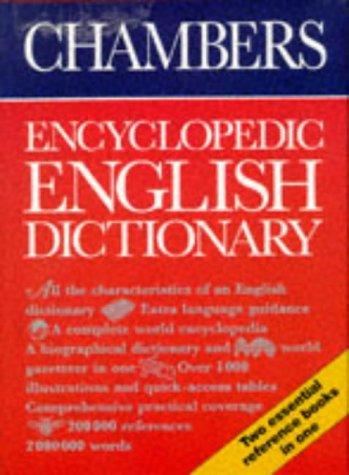 9780550110015: Chambers Encyclopedic English Dictionary