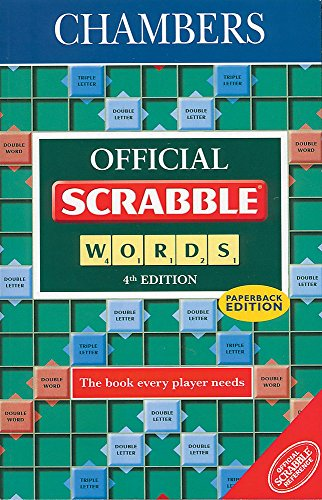 9780550120045: Chambers Official Scrabble Words