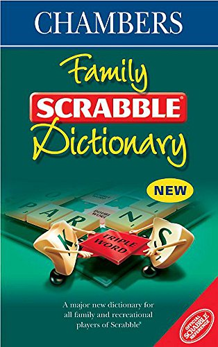 9780550120113: Family Scrabble Dictionary: Official Scrabble Reference